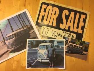 Memories from California.