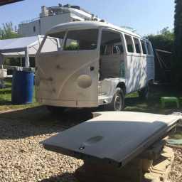 VW T1 Bus - Grundierung & Farbvorbereitung